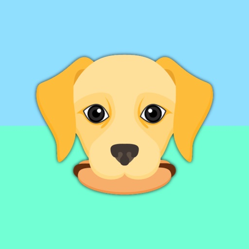 Yellow Labrador Emoji