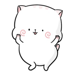 Exotic Cat Cute Stickers