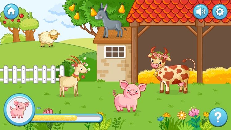 Look&Say Toddler Learning Game screenshot-3