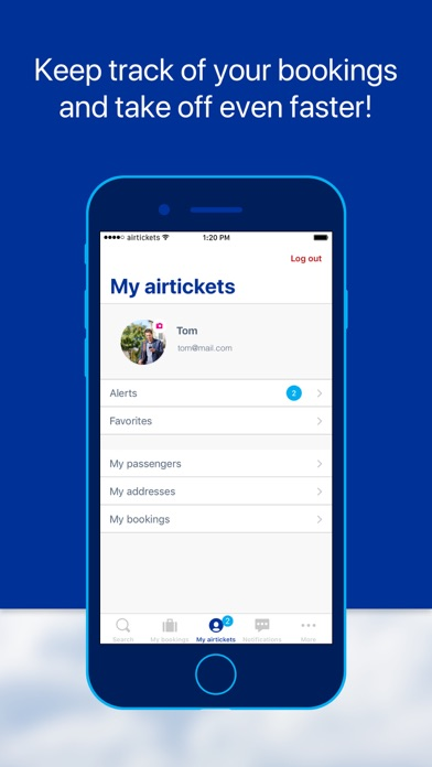 airtickets - A world to share screenshot four