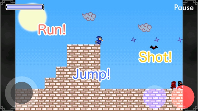 Ninja Shaw - Retro platformer! screenshot-1