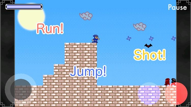 Ninja Shaw - Retro platformer!