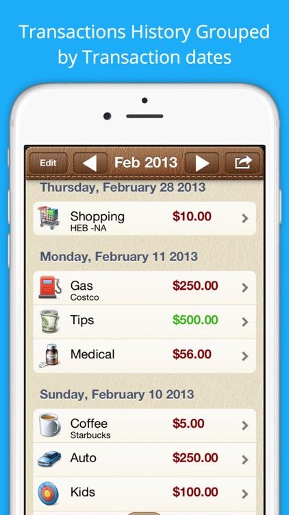 Easy Expenses Tracker