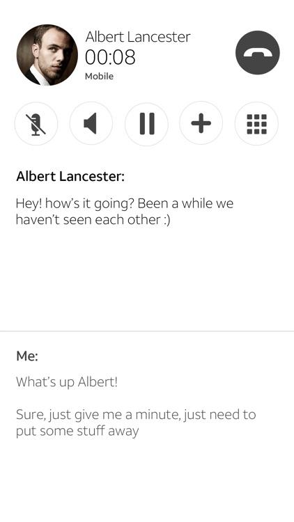 Real Time Text screenshot-3