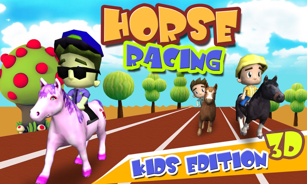 Horse Racing 3d Free Kids Edition For Apple Tv By Yash Future Tech Solutions Pvt Ltd