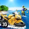 冲浪自行车水上赛车