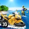 Surfing Bike Water Wave Racing