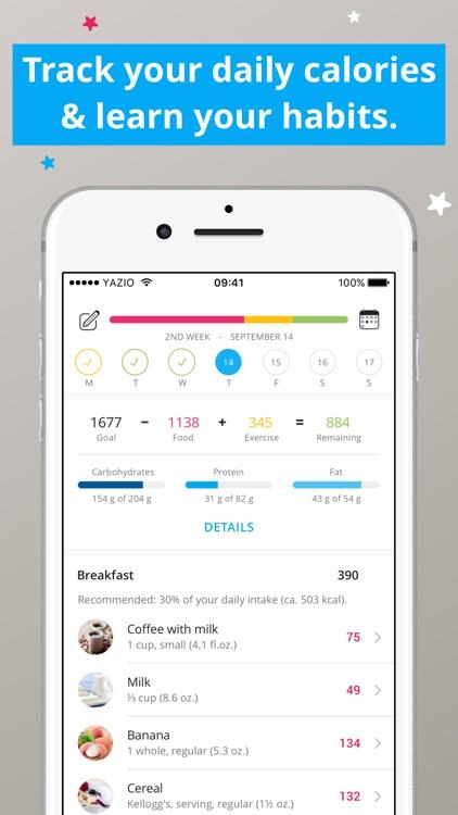 YAZIO - Calorie Counter