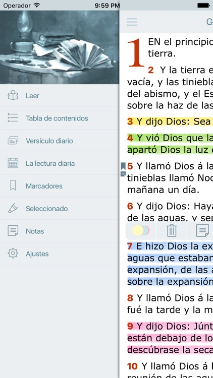 Biblia Reina Valera Antigua screenshot-2