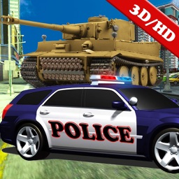 Tank Rider VS Police Car