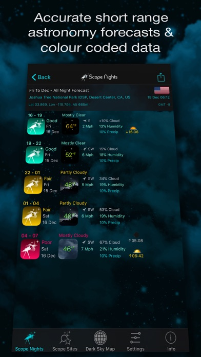 Scope Nights Astronomy Weather review screenshots