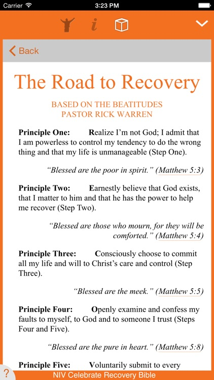 Celebrate Recovery Bible screenshot-3