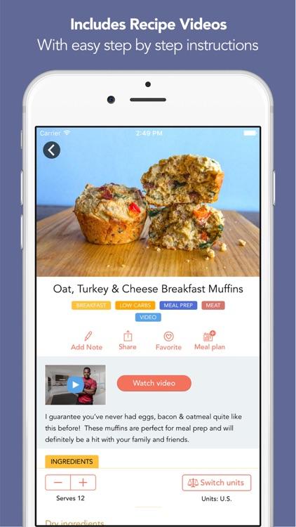Fit Men Cook - Healthy Recipes screenshot-3
