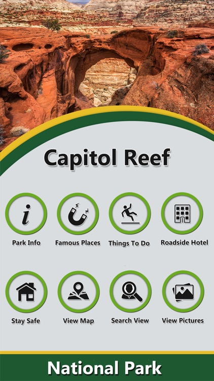 Capitol Reef In -National Park