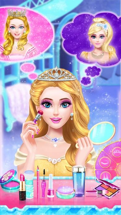 裝扮小公主 - 公主遊戲屏幕截圖1