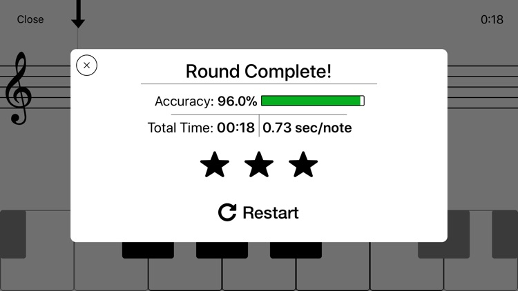 Notes - Sight Reading Trainer screenshot-3