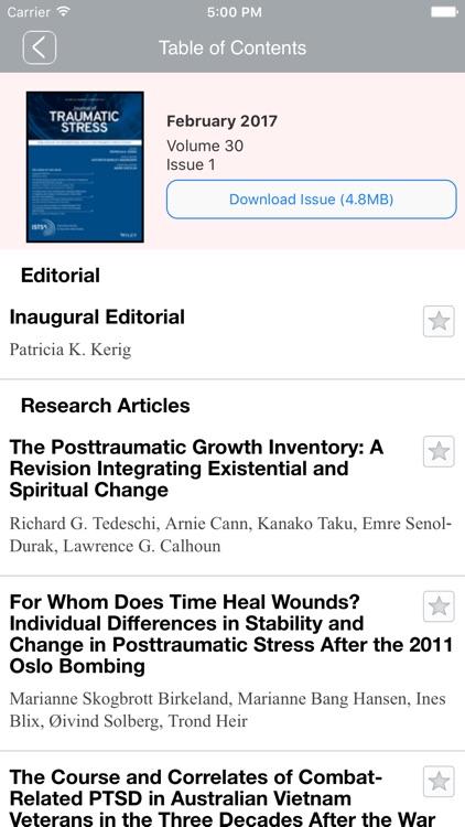 JTS Journal of Traumatic Stres screenshot-4