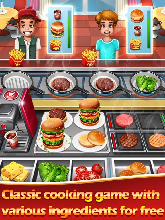 Сумасшедший повар-мастер кухни для iPad