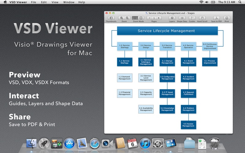 VSD Viewer for Visio Drawings for Mac