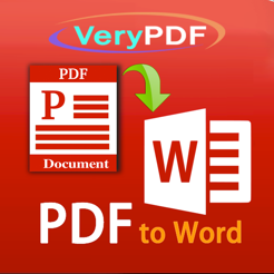‎VeryPDF PDF to Word