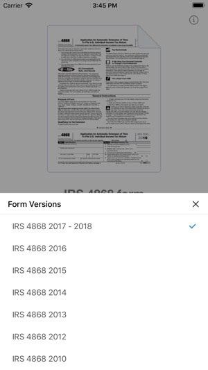 4868 Form On The App Store