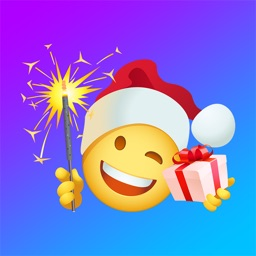 Christmas emoji & Santa Claus