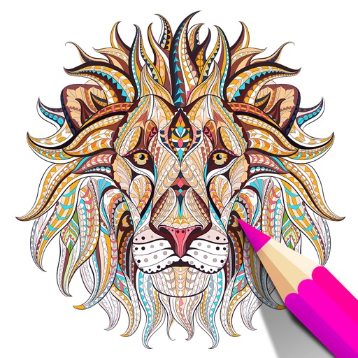 Adult Coloring Book | Animals iOS App