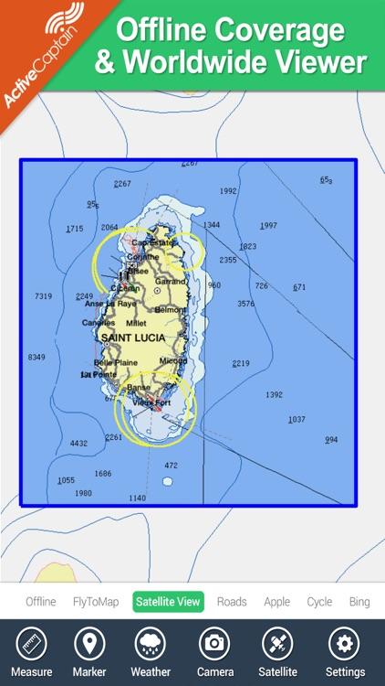 Saint Lucia - GPS Map Navigator screenshot-4