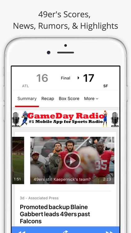 San Francisco GameDay Radio for 49ers Giants screenshot-3