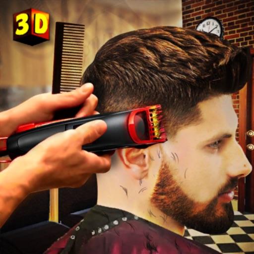 парикмахерская стрижка игры 3d