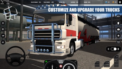 Truck Simulator PRO Europe screenshot 4