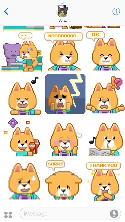 Animated Borky Stickers screenshot-3