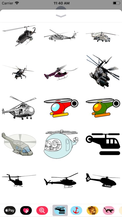 Helicopter Stickers