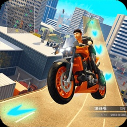 Grand City Bike Racing Stunts