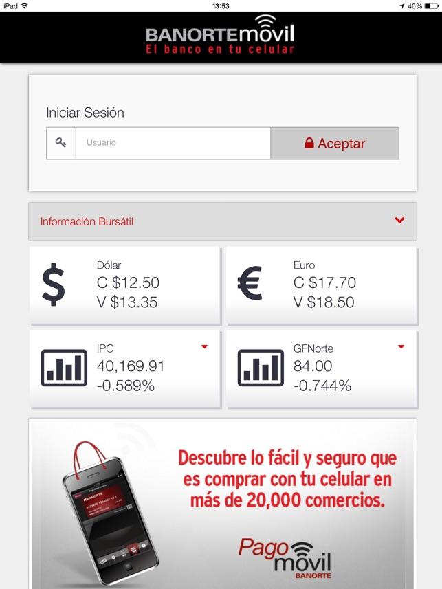 aplicacion token celular banorte
