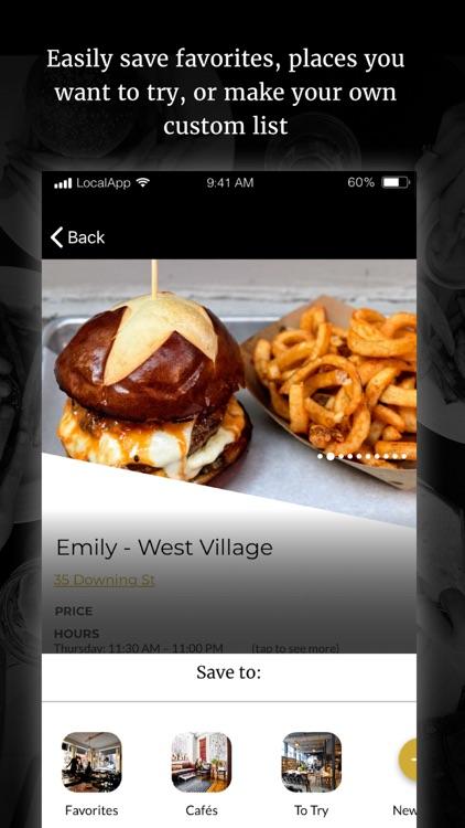 Local: Restaurant Lists & Recs
