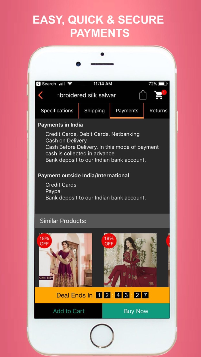 MIRRAW - Online Shopping App Screenshot