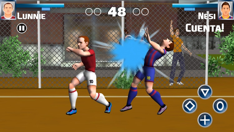 Soccer Heroes Press Room Fight screenshot-4