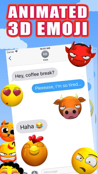 New 3D Emojis Animated Emoji screenshot two