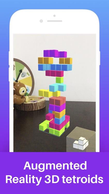 Tetroids AR Puzzle Game