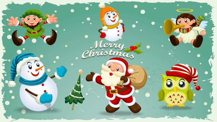 Happy Holidays Sticker Pack!