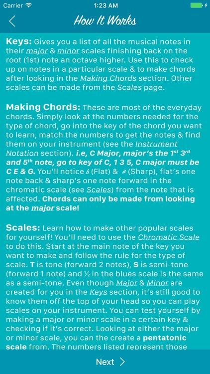 1 Step Ahead: Music Theory screenshot-4