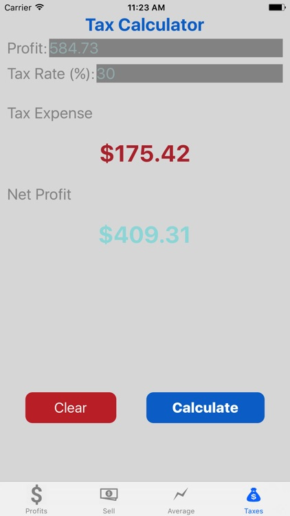 Stock Target Calculator Pro screenshot-4