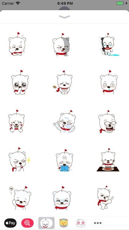Stuffed Bear Stickers Pack