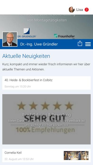 Dr.-Ing. Uwe Gründler screenshot 1
