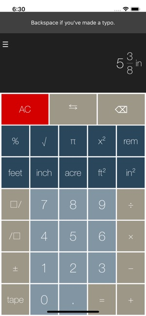 Feet&Inches Calculator on the App Store