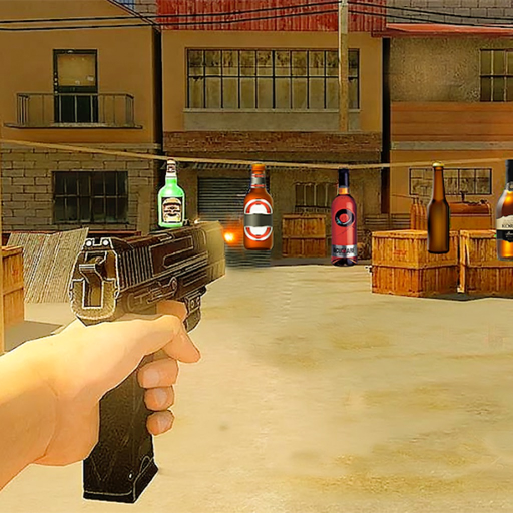 Army Shoot Bottle Training hack