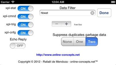 xPL Sniffer screenshot four