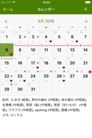 Period Tracker Lite screenshot 2