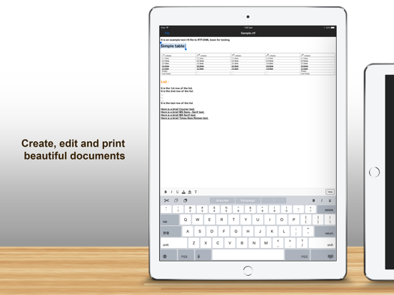 Documents Pro 7: Office Document File Manager & Editor screenshot